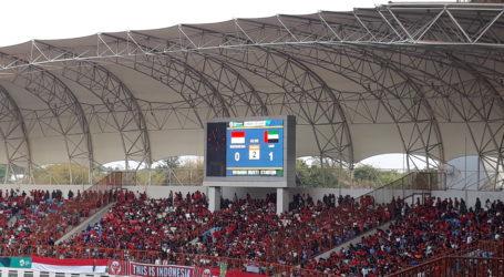 Sepakbola: UEA Ungguli Indonesia di Babak Pertama