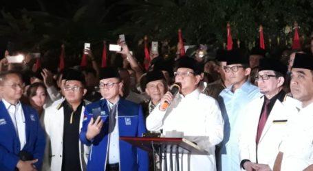 Sandi Dampingi Prabowo Maju Pilpres 2019