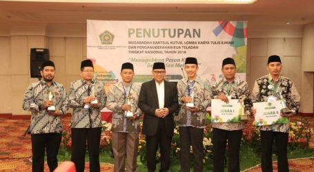 Provinsi Bali Peringkat I KUA Teladan Nasional 2018