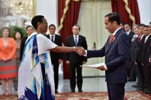 Presiden RI Terima Surat Kepercayaan 8 Duta Besar Baru Negara Sahabat