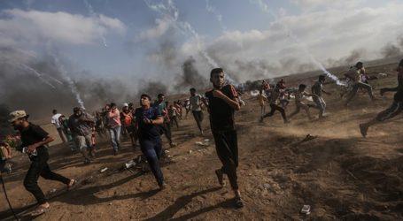 Aksi Protes Warga Palestina Terus Berlangsung, Satu Meninggal