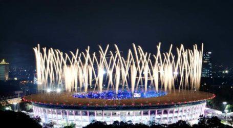 "Tari Saman ""Assalamualaikum"" Tandai Pembukaan Asian Games XVIII"