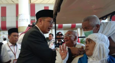 Amirul Hajj Indonesia Mendarat di Jeddah