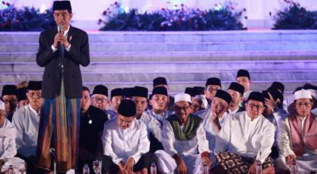 Hadiri Acara Zikir dan Doa, Presiden Ajak Rakyat Indonesia Syukuri Rahmat