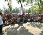 Banyak Fasilitas Pendidikan Hancur, Presiden Jokowi Beri Semangat Anak Sekolah