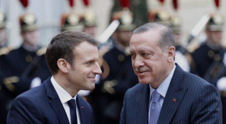 Erdogan-Macron Sepakat Tingkatkan Perdagangan di Tengah Tekanan AS