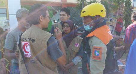 MER-C Tangani Pasien di RS Tanjung Lombok Utara