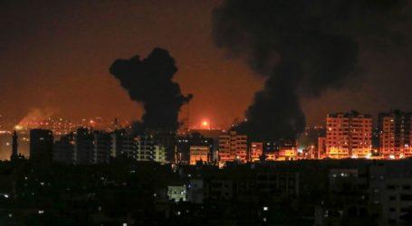 Gaza-Israel Saling Serang Rabu Malam