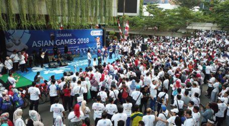 Sukseskan Asian Games 2018, Kemendikbud Gelar Jalan Sehat