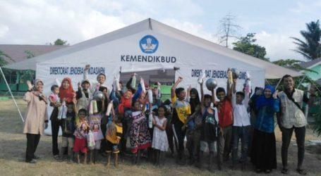 Gempa Susulan di Lombok, Kemendikbud Tambah Kelas Darurat
