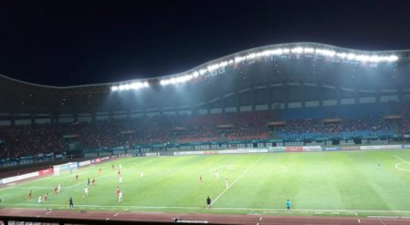 Palestina Ungguli Tuan Rumah Indonesia 2-1
