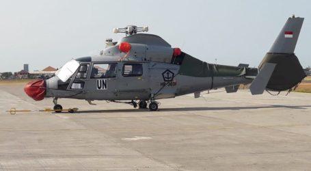 Helikopter Dauphin -HR-3601 Perkuat Satgas MTF TNI di Lebanon