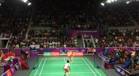 Dua Tunggal Putra Indonesia Maju ke Semi Final Badminton