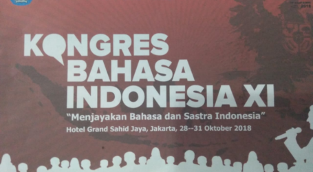 Kongres Bahasa Indonesia ke-XI Akan Dilaksanakan 28-31 Oktober 2018
