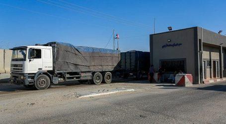 Ratusan Truk Barang Dari Israel Masuk ke Jalur Gaza