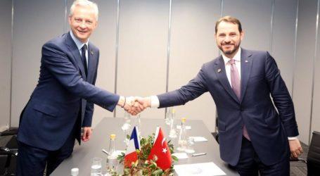 Turki dan Perancis Lawan Sanksi AS