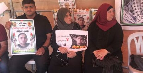 Tahanan Palestina Gelar Protes Solidaritas Mogok Makan Hassan Shoka