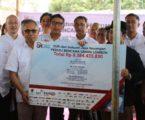 OJK-Industri Jasa Keuangan Galang Dana Bantu Lombok