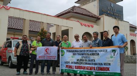 Cerita Relawan Gempa Lombok, Kisah Pasien Tak Mau Pulang