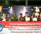Siswa Indonesia Raih Tiga Emas pada Olimpiade Internasional di Thailand