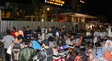 Korban Meninggal Gempa Lombok Hingga Senin Dini Hari 82 Orang