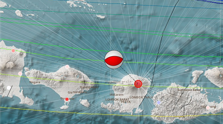 Peringatan Tsunami Akibat Gempa Lombok Dicabut