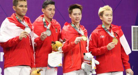 Marcus/Kevin Persembahkan Medali Emas