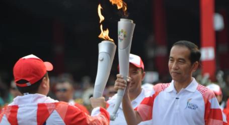 Jokowi : Mari Kirim Energi Positif Asian Games 2018 ke Lombok