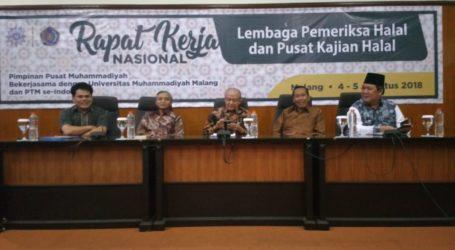 PP Muhammadiyah Dorong PTM Dirikan Pusat Kajian Halal