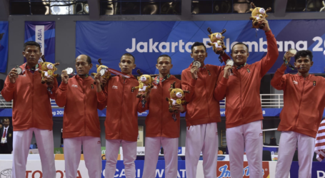 Sepak Takraw: Indonesia Persembahkan 1 Medali Perak, 2 Perunggu