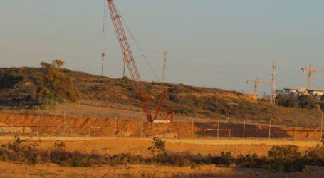 Israel Hentikan Pembangunan Tembok Penghalang Terowongan
