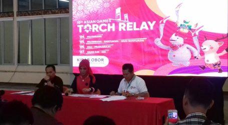 52 Penerjun Siap Ramaikan Pawai Obor Asian Games di Palembang