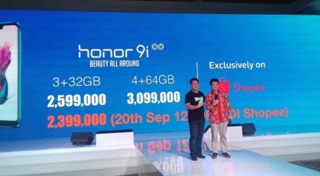 Ponsel Pintar Honor 9i Resmi Diperkenalkan di Indonesia