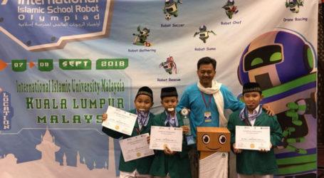 MI Islamiyah 03 Madiun Berjaya di Olimpiade Robot Sekolah Islam di Kuala Lumpur