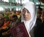 Novita Sari, Qariah Tunanetra Buka KSM Nasional dengan Bacaan Al-Quran Braille