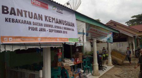 ACT dan MRI Aceh, Beri Bantuan kepada Santri Ummul Ayman