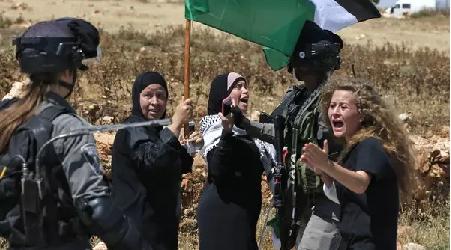 Israel Larang Aktivis 17 Tahun Simbol Perlawanan Palestina ke Luar Negeri