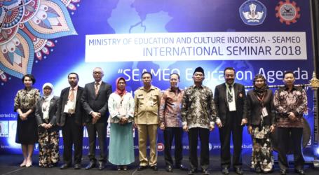 Indonesia-SEAMEO Gelar Seminar Internasional Bahas Prioritas Pendidikan Asia Tenggara