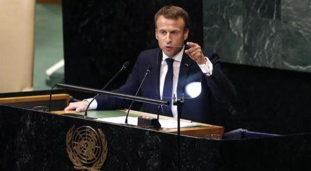 Macron: Rakyat Suriah Harus Miliki Suara untuk Tentukan Masa Depan