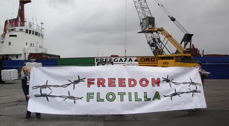 Kapal Freedom Flotilla Akan Terus Berlanjut Sampai 'Palestina Merdeka'