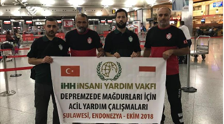 Lembaga Kemanusiaan Turki IHH Bantu Korban Gempa dan Tsunami Palu, Sulteng