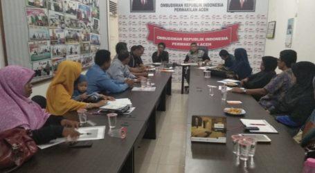 Ombudsman Aceh Keluarkan LAHP Terkait Maladministrasi