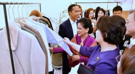 Presiden Joko Widodo Blusukan Bersama Presiden Korsel