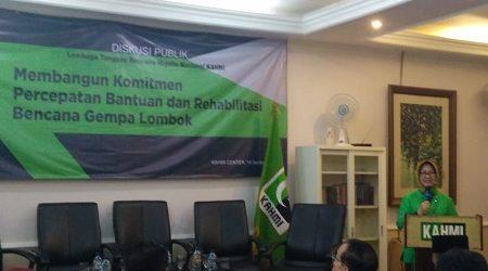 KAHMI Imbau Perkuat Koordinasi Untuk Percepat Rehabilitasi Lombok