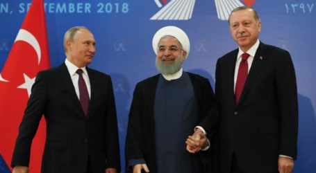 Pertemuan Rouhani, Putin dan Erdogan Tentang Idlib Tidak Temui Titik Temu
