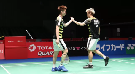 Kevin/Marcus Melaju ke Babak Final Japan Open 2018