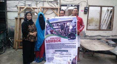 Cahaya Aceh Salurkan Bantuan untuk Lombok