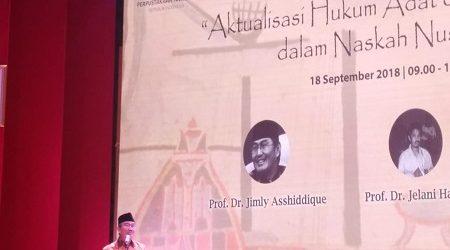Prof. Jimly Akan Usulkan Jabatan Fungsional untuk Peneliti Naskah