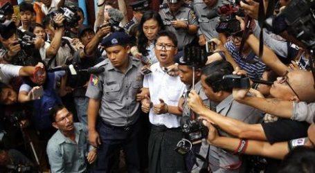 Wartawan Reuters Divonis Tujuh Tahun Oleh Pengadilan Myanmar
