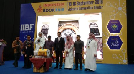 Stan Arab Saudi di IIBF 2018 Adakan Kuis Berhadiah Haji dan Umroh